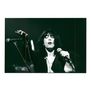 Vintage Patti Smith Photograph, Late 1970's
