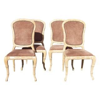 Vintage 1975 Designer Side Chairs - Set of 4
