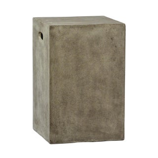 Concrete Mix Outdoor Stool/Side Table