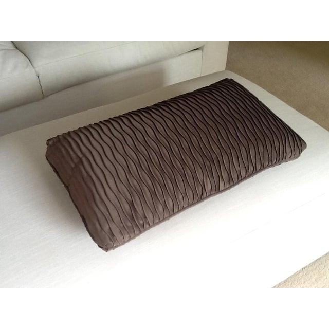 Brown Wave Lumbar Pillow - Image 2 of 4