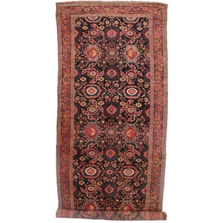 Antique Persian Kurdish Rug - 6′10″ × 19′10″