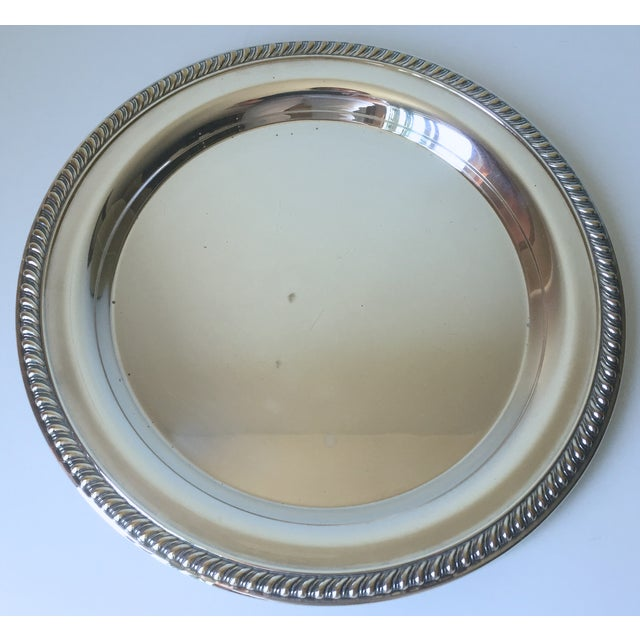Classic Vintage Silver Trays & Silver Bowl - 3 - Image 4 of 6