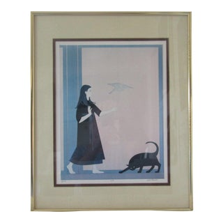 "Will Barnet ""Youth"" Artist Proof"
