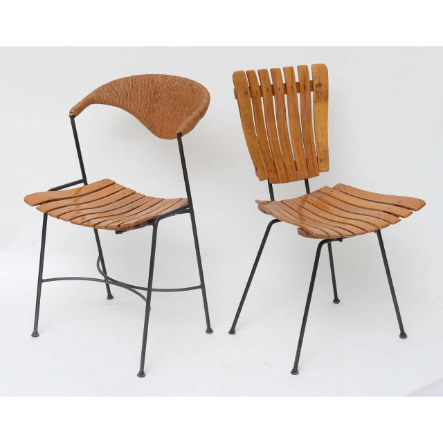 Set of Four Arthur Umanoff Dining Chairs for Raymor - Image 3 of 10