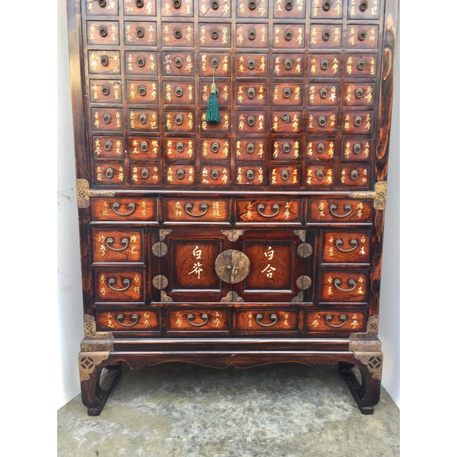 Vintage Chinese Apothecary Cabinet Medicine Storage Chest - Image 5 of 10 - Vintage Chinese Apothecary Cabinet Medicine Storage Chest Chairish
