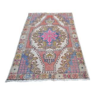 Oushak Anatolian Carpet - 4′5″ × 6′10″