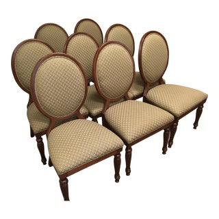 Traditional Upholstered Dining Chairs - Set of 8