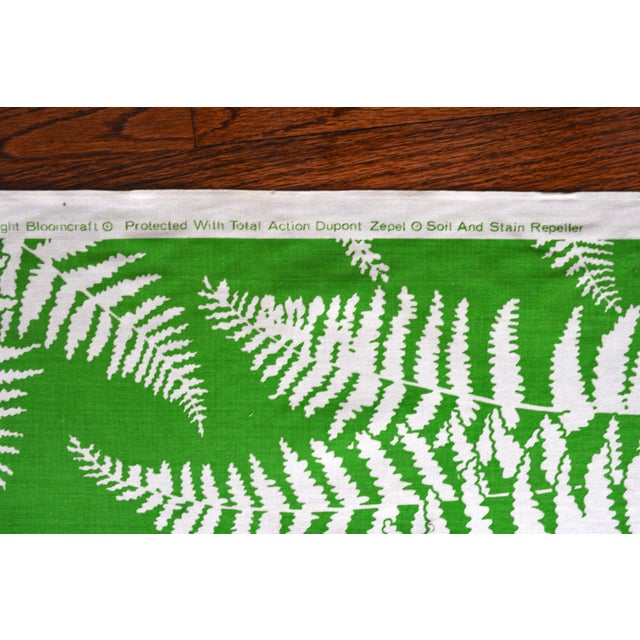 Green Palm Springs-Style Fern Fabric - 2 Bolts - Image 2 of 3