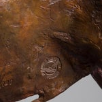 Image of Sculpture of a Standing Bull by Christian Maas
