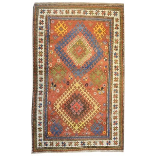 Unbelievable Early 20th Century Kazak Rug