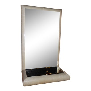 Springer Style Mirror Console in Faux Lizard by Jaru, California