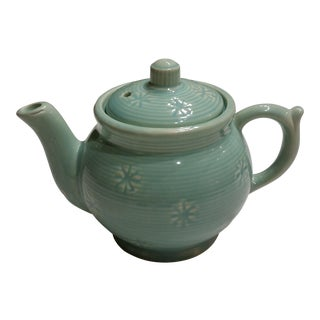 Shawnee Modern Blue Teapot