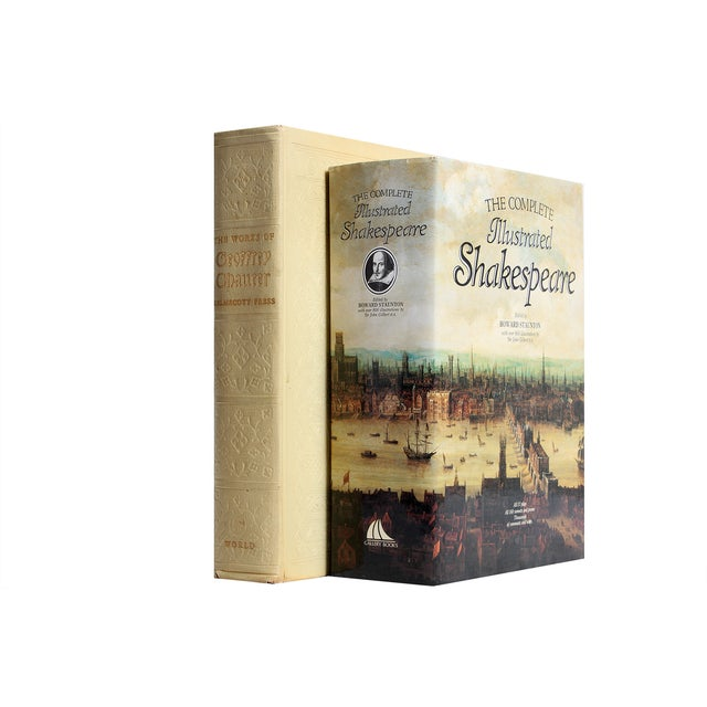 Shakespeare & Chaucer Gift Set - S/2 - Image 1 of 3