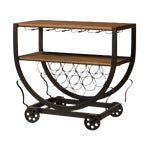 Image of Industrial Wine Cart
