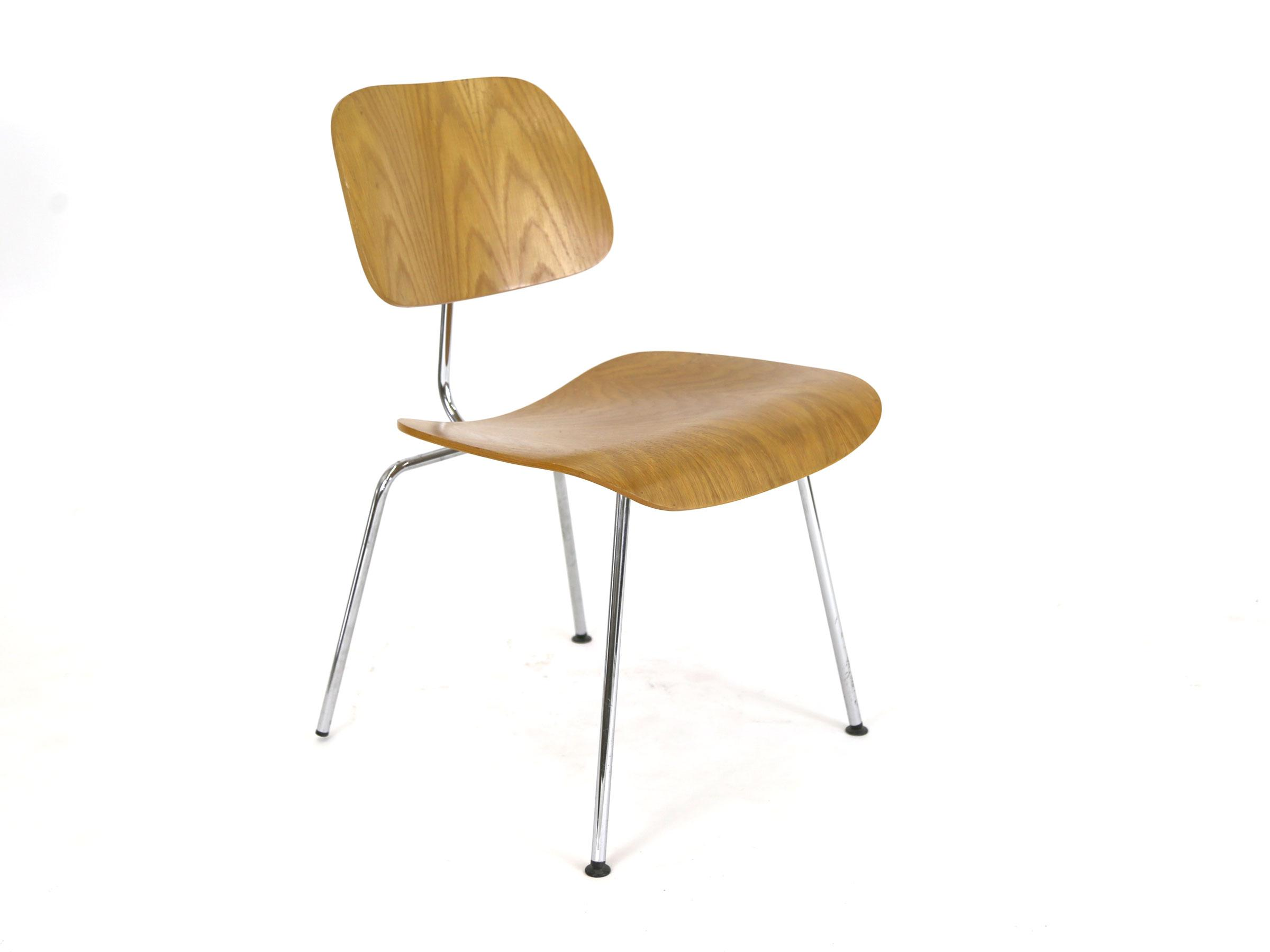 Vintage Eames Chair Molded Plywood Reproduction