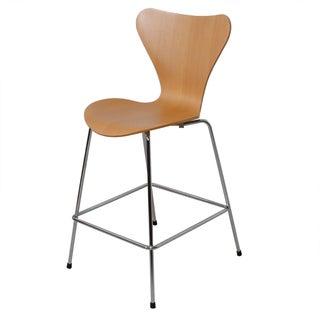 Arne Jacobsen for Fritz Hansen Series 7 Barstool