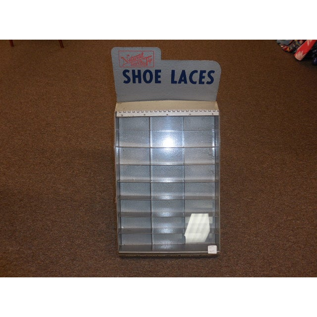 Image of Natural Tip Shoe Lace Display