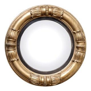 Antique English William IV Convex Mirror