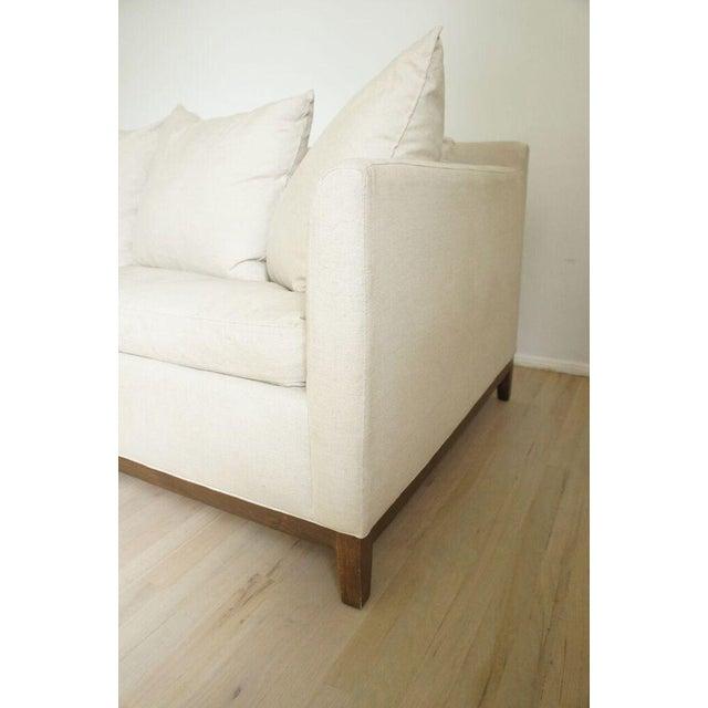 Cisco Home Flax Linen Sofa - Image 6 of 10