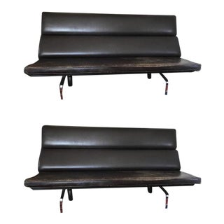 Herman Miller Eames Compact Sofas - A Pair