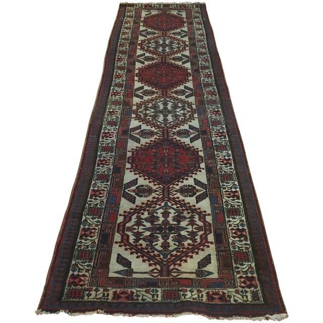 "Vintage Persian Sarab Runner Rug - 2'9"" x 10'7"" - Image 1 of 6"