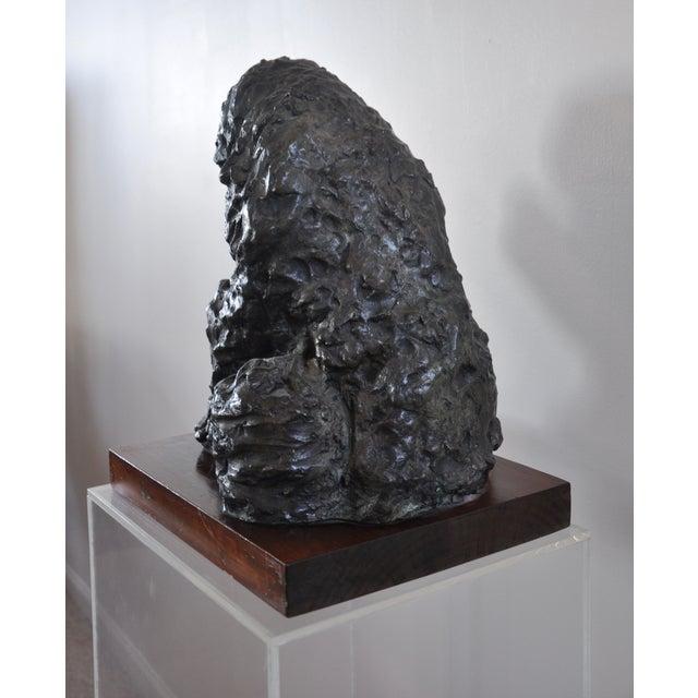 "Victor Salmones ""Madonna Con Nino"" Bronze Statue - Image 4 of 9"