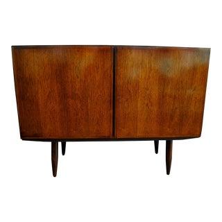 Vintage Danish Modern Rosewood Credenza