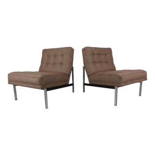 "Florence Knoll ""Parallel Bar"" Lounge Chairs"