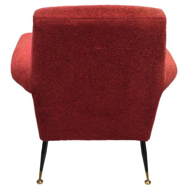 Italian Mid-Century Modern Armchairs - a Pair - Image 4 of 4