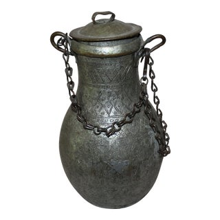 Handmade Hanging Thick Copper Water Pitcher