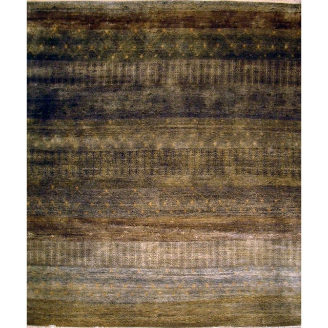 Image of Pasargad Modern Hand-Knotted Wool Area Rug- 8'x10'