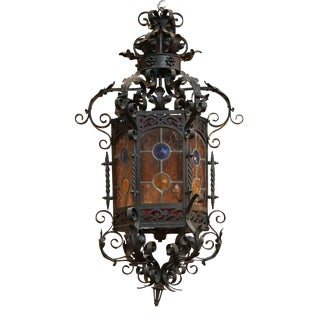 19th c. French Iron Lantern