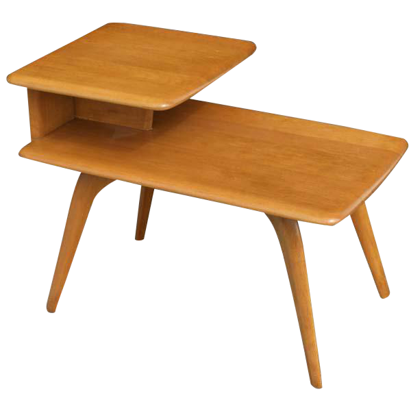 Vintage Heywood Wakefield Side Step End Table