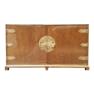 Chinoiserie Buffet / Credenza with Brass Hardware