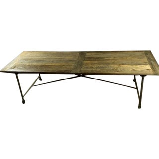 Restoration Hardware Reclaimed Elm Dining Table