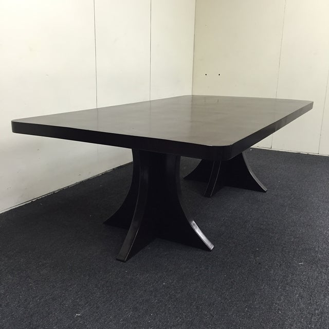 Dark Brown Wooden Dining Set - Image 5 of 11