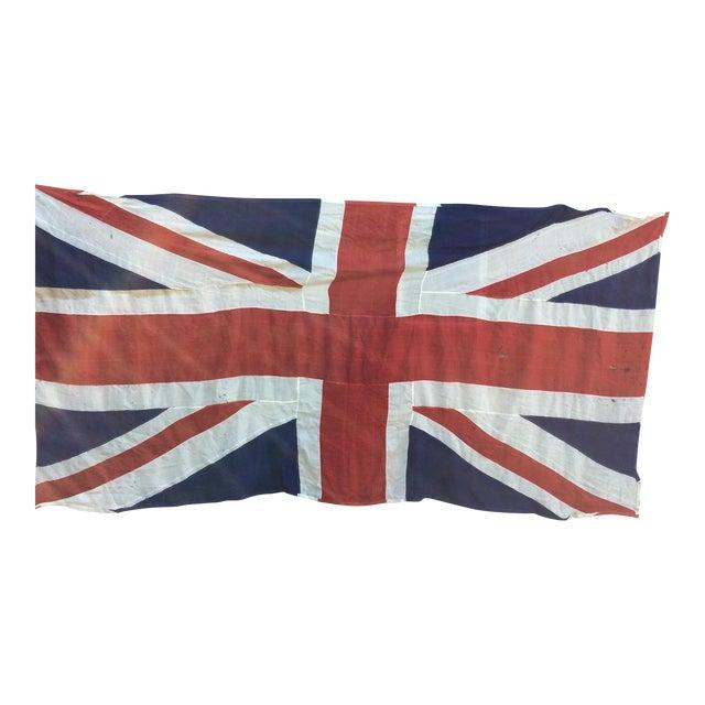 "Vintage ""Union Jack"" British Flag - Ship Flag - Image 1 of 11"
