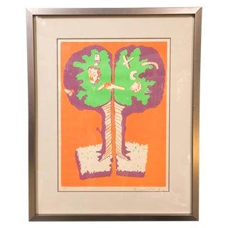 1971 Hugh Weiss Print - Signed