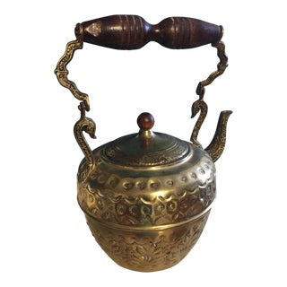 Middle Eastern Brass Tea Kettle