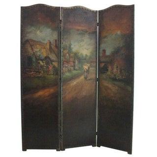 Roman Art Screen Company Oil on Canvas Room Screen