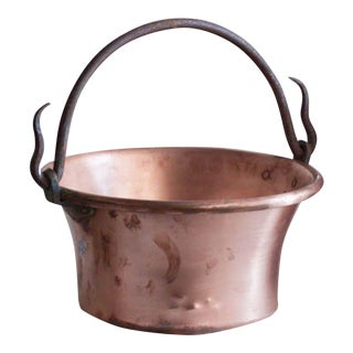Vintage French Copper Cooking Pot