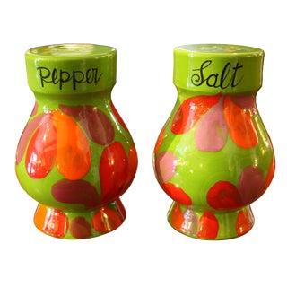 Mid-Century Italian Salt & Pepper Shakers - A Pair