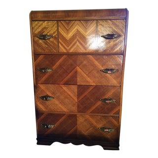 Art Deco Mid-Century Chest