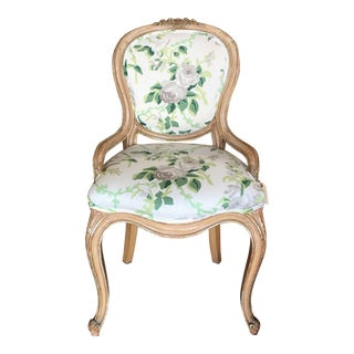 Dana Gibson Transitional Cottage Louis Like Chair