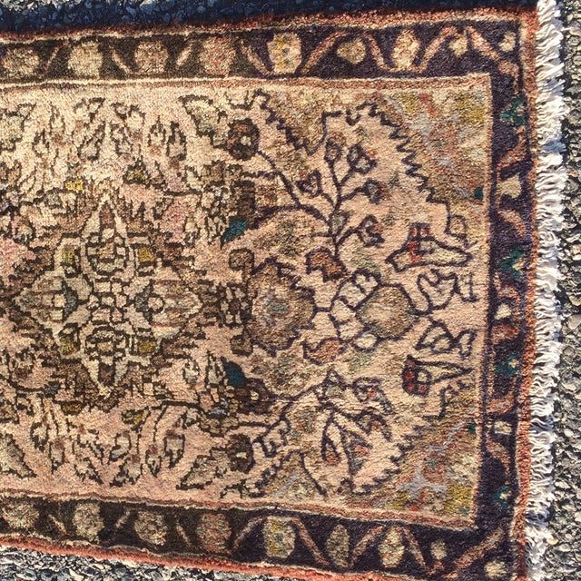 "Hamadan Persian Rug - 1'9"" X 2'10"" - Image 3 of 8"