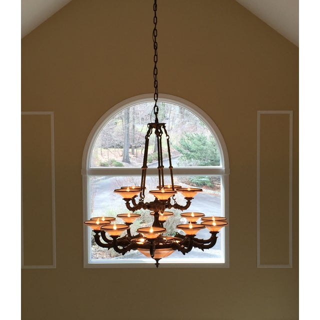 Turin Family Bowl Chandelier - Image 5 of 5