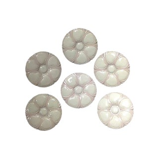 French Oyster Plates- Set of 6