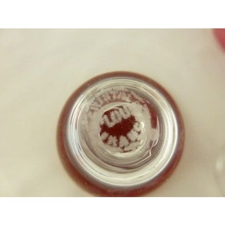 "Saint Louis ""Tsarine"" Claret Glasses - Set of 5 - Image 3 of 3"