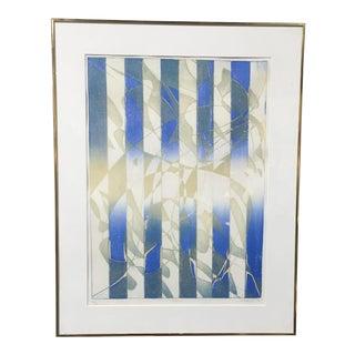 Original Listed Artist Stanley William Hayter 1974 Print, Signed