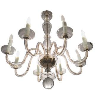 Georgian Style 8 Light Crystal Chandelier